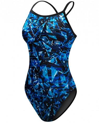 TYR Girls' Vitrum Diamondfit Swimsuit