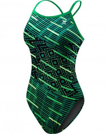 TYR Girls' Zyex Diamondfit Swimsuit