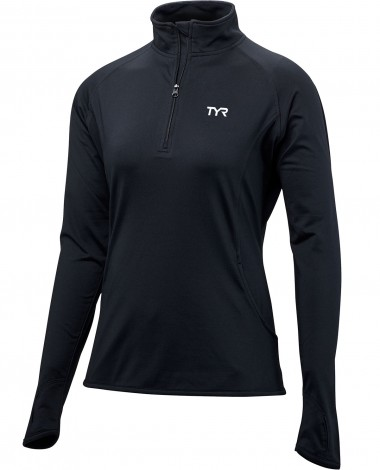 TYR Women's Plus Alliance ¼ Zip Pullover