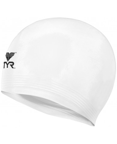 TYR Latex Adult Swim Cap