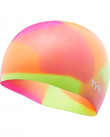 TYR Tie Dye Silicone Youth Swim Cap
