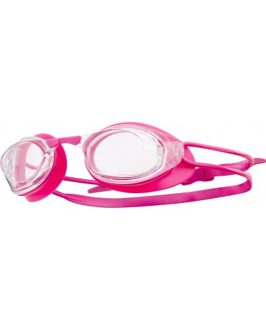 TYR Pink Stealth Racing Goggles