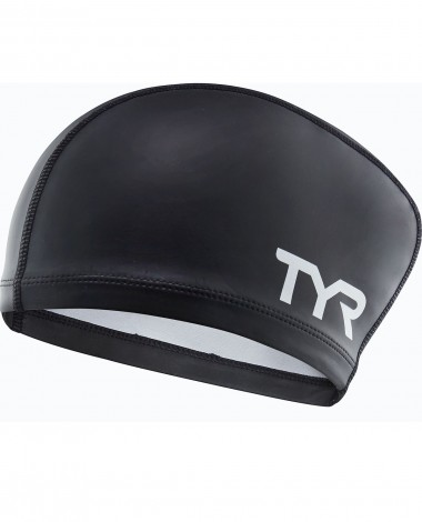 TYR Silicone Comfort Long Hair Adult Swim Cap