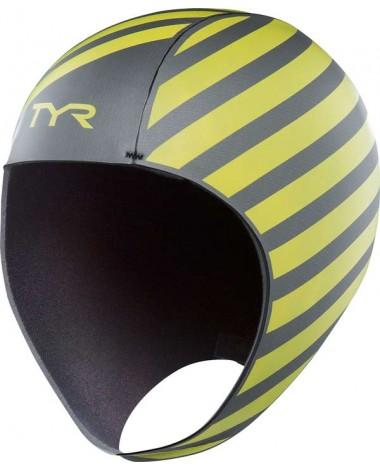 TYR Hi-Vis Neoprene Adult Swim Cap