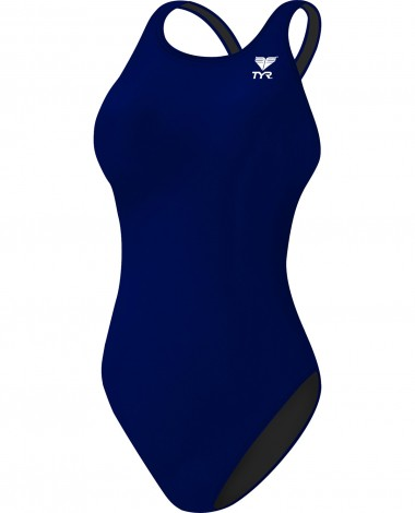 Girls' Durafast One Solid Maxfit Swimsuit