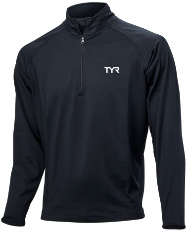 TYR Men's Plus Alliance ¼ Zip Pullover