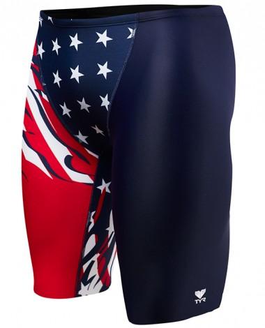TYR Boys' Allegiance Jammer Swimsuit