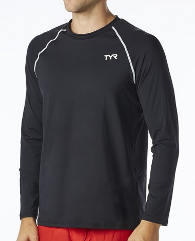 TYR Men's Long Sleeve Rashguard
