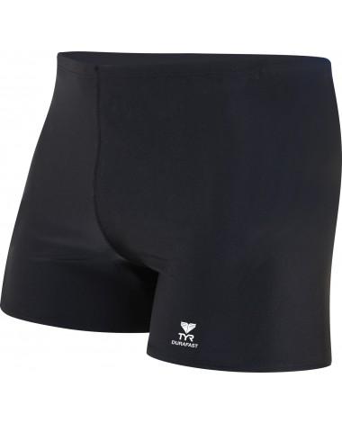 TYR Boys' Durafast Elite Solid Square Leg Swimsuit
