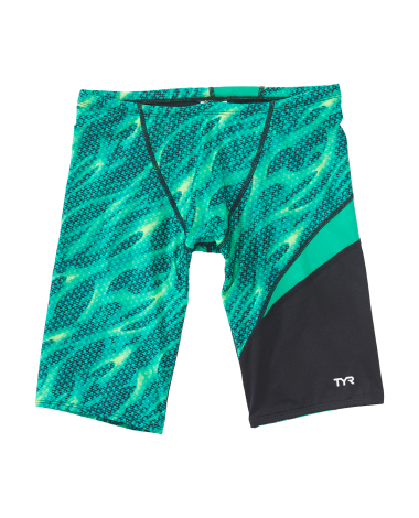 TYR Boys' Reaper Wave Jammer Swimsuit