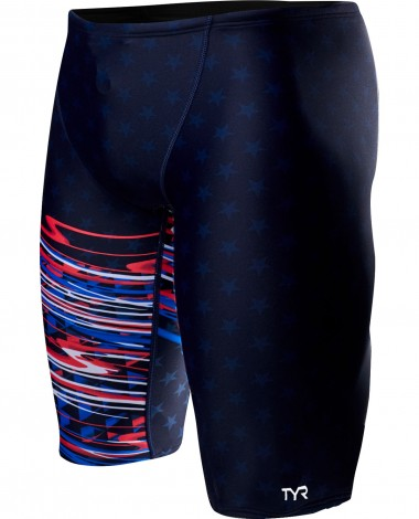 TYR Boys' Victorious Jammer Swimsuit