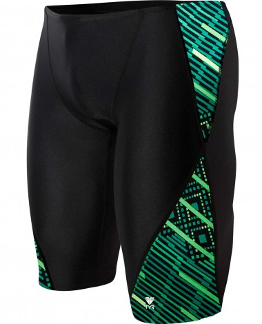 TYR Boys' Zyex Blade Splice Jammer Swimsuit