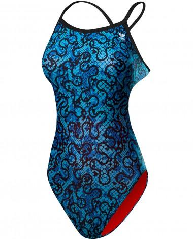 TYR Women's Burano Crosscutfit Tieback Swimsuit