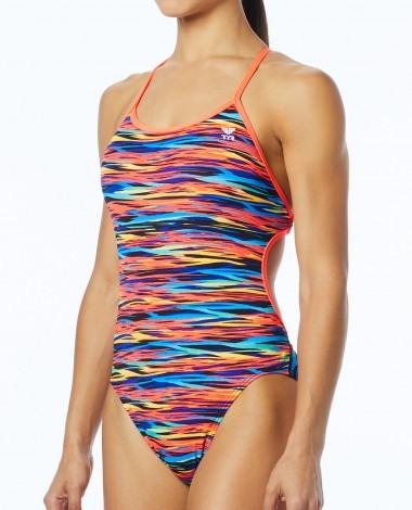 TYR Women's Bonzai Crosscutfit Tieback Swimsuit