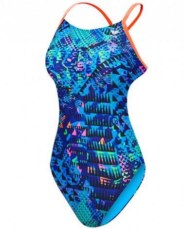 TYR Girl's Machu Cutoutfit Swimsuit