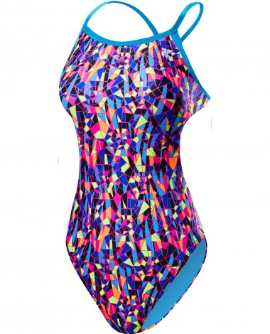 TYR Girls' Santa Marta Crosscutfit Tieback Swimsuit