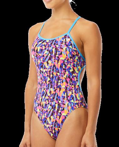 TYR Women's Santa Marta Crosscutfit Tieback Swimsuit