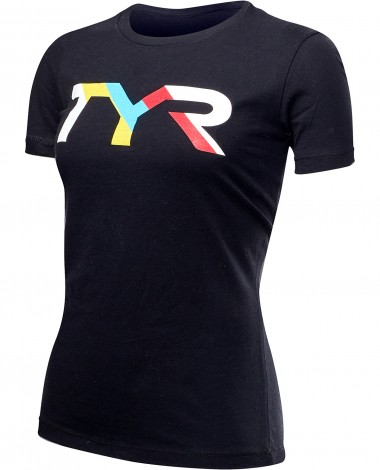 "TYR Women's ""Primary"" Graphic Tee"