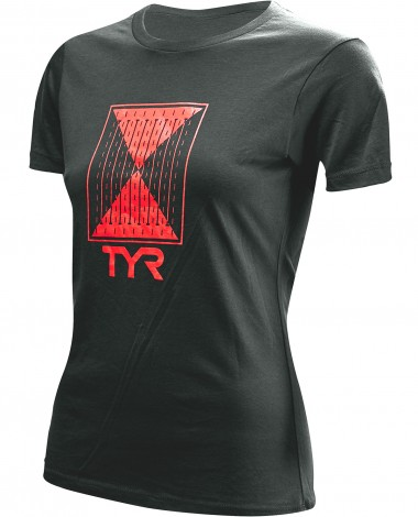 "TYR Women's ""Time Lapse"" Graphic Tee"