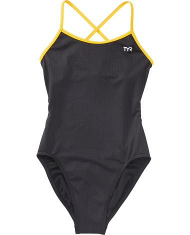 TYR Girls' Hexa Trinityfit Swimsuit