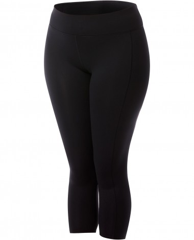 TYR Women's Plus ¾ Kalani Tight- Solid