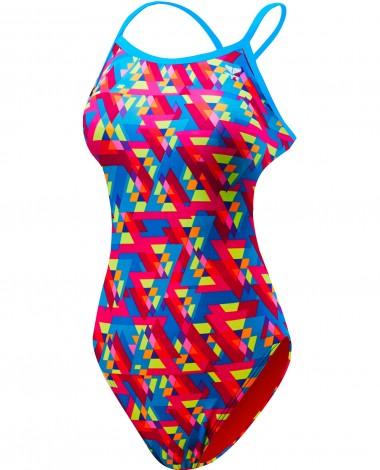 TYR Pink Girls' Le Reve Trinityfit Swimsuit