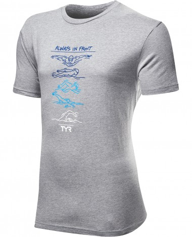 "TYR Men's ""Going Places"" Graphic Tee"