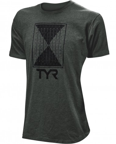 "TYR Men's ""Time Lapse"" Graphic Tee"