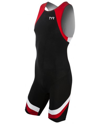 TYR Men's Carbon Zip Back Tri Suit