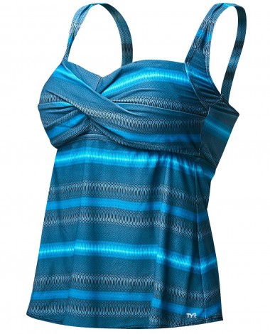 TYR Women's Tramonto Twisted Bra Tankini Plus