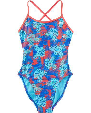 TYR Girls' Tortuga Trinityfit Swimsuit
