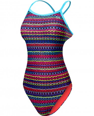 TYR Girls' Morocco Trinityfit Swimsuit