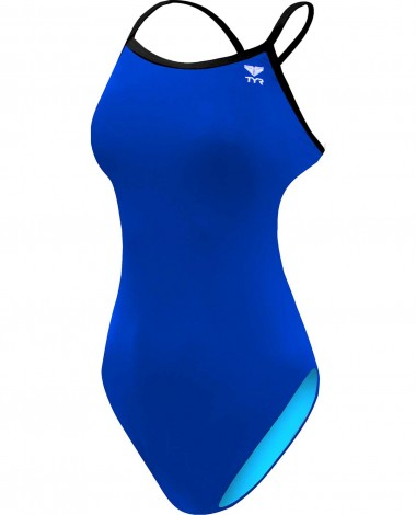 TYR Girl's Solid Trinityfit Swimsuit