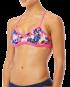 TYR Women's Stellar Mojave Tieback Top - Black/Pink