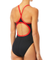 TYR Women's Hexa Diamondfit Swimsuit - Black/Red