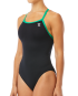 TYR Women's Hexa Diamondfit Swimsuit - Black/Green