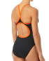 TYR Women's Hexa Diamondfit Swimsuit - Black/Orange
