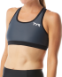 Women's Competitor Racerback Tri Bra - Grey/Black