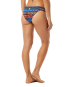 TYR Women's Santa Fe Cove Mini Bikini Bottom - Black/Multi
