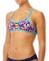 TYR Women's Santa Marta Pacific Tieback Top - Purple/Yellow