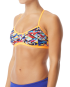 TYR Women's Mosaic Crosscut Tieback Top