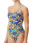 TYR Women's Astratto Cutoutfit Swimsuit - Blue/Multi