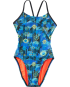 TYR Girls' Azoic Cutoutfit Swimsuit