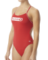 TYR Guard Women's Cutoutfit Swimsuit  - Red