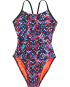 TYR Girls' Meso Cutoutfit Swimsuit
