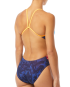 TYR Women's Fumoso Cutoutfit Swimsuit - Blue/Coral