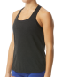 Grace Overlay Tank - Black