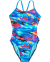 TYR Girls' Synthesis Cutoutfit Swimsuit