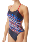 TYR Women's Victorious Cutoutfit Swimsuit - Red/White/Blue