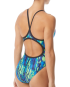 TYR Women's Brandello Diamondfit Swimsuit  - Blue/Green